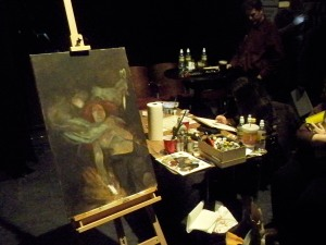 Unfinished Dave Dorman Painting