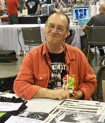 Dave Dorman's Friend, Bernie Wrightson, at HeroesCon 2010