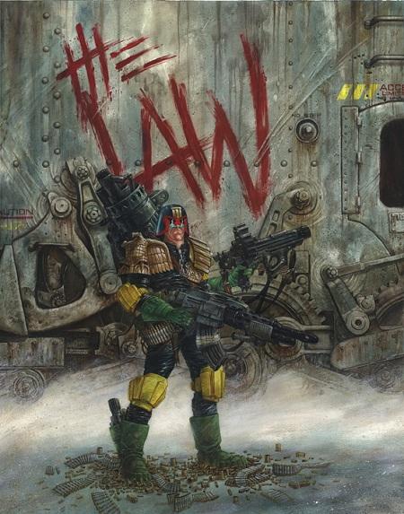 Judge Dredd: Dave Dorman-Style