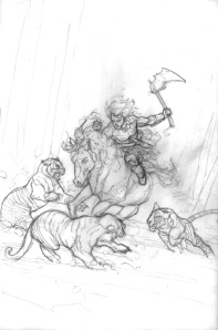 Pencil Rough #2 by Dave Dorman