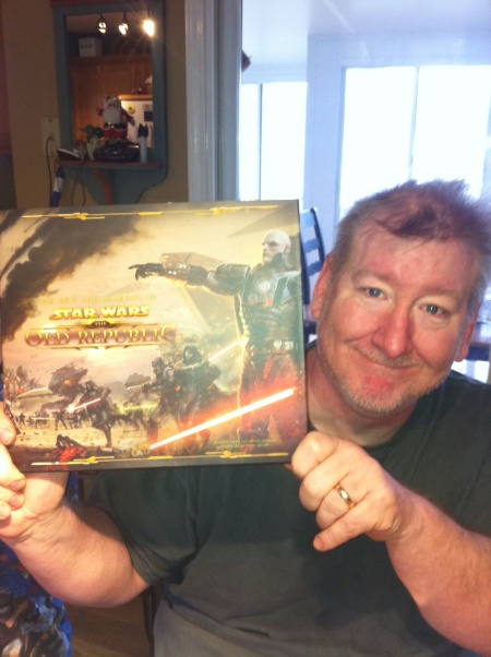 Dave Dorman with Star Wars: Old Republic Book