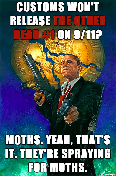 Dave Dorman's President Obama Cover Meme for Delay in 9/11 Release