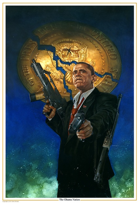 Obama Nation Giclee by Dave Dorman