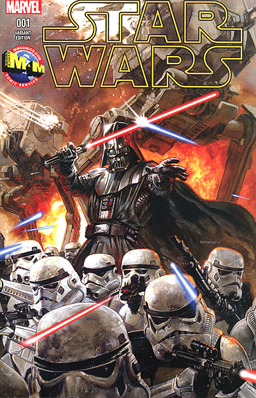 Dave Dorman MARVEL COMICS STAR WARS Variant Cover #1