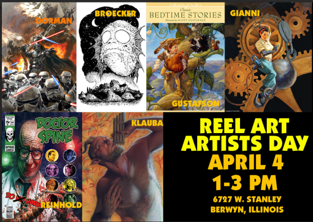Chicago #Comics Fans: Come on by tomorrow!
